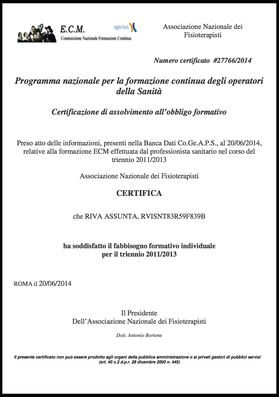 attestati ecm