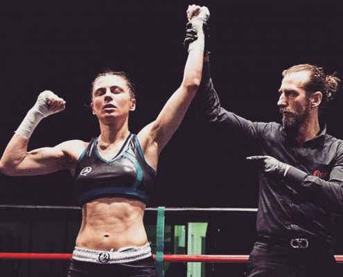 Veronica Parisi- ITALY - Italian champion 2016 Savate Combat, European bronze medal and bronze medal